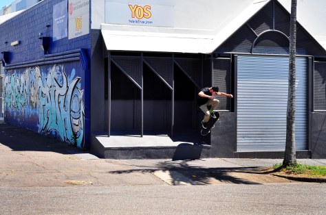 Beacho - Ollie up to wallie
