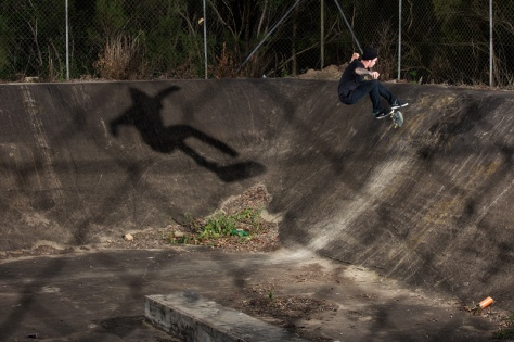 Tre Flip Fakie, Photo - Tim Black