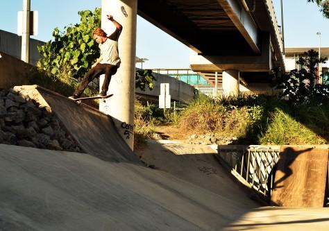 Beacho Fs Tails a resurrected Brisbane drain spot.
