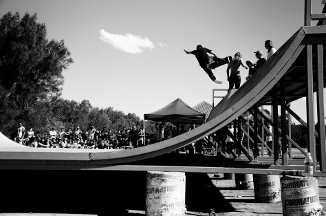 The mini ramp jam then turned into the Jack Fardell show as he proceeded to tear that thing a new one. Fs Boneless
