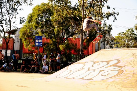 The homie Richard Flude also managed to win himself some cash! With fakie flips like these its easy to see why