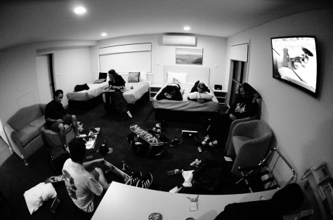 1 Room, 7 Dudes