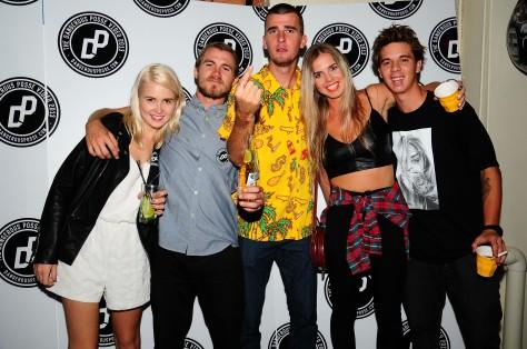 Holly, Beacho, Nate, Hayley and Alex