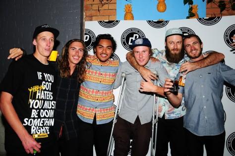 Roach, Sammy, John, Hendo, Kane and Beacho