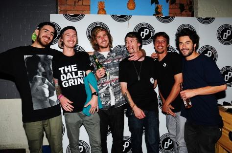 Kurt, Woody, Joely, Jayden, Cam, and Charlie