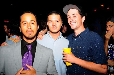 Pedro, Robbie and Jarrod