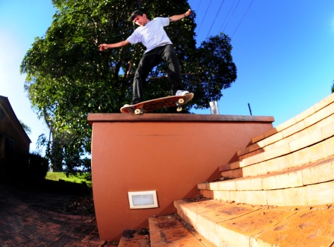 Jarrod with a well balanced Bs Nosegrind