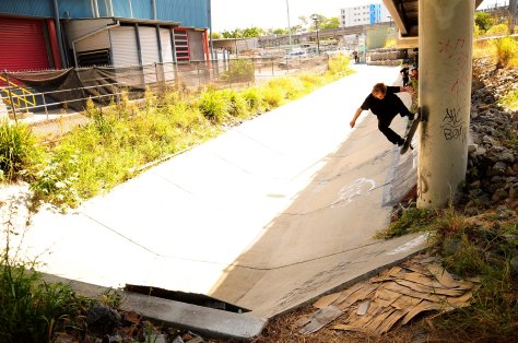 Beacho gets creative with a pole wallie