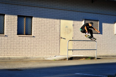 This photo was actually from a while ago, Pedro - Bump to Nosegrind