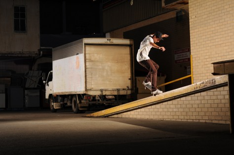 Jarrod going up on this Nosegrind
