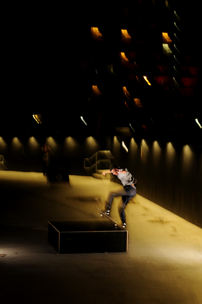 LP front blunting in the night